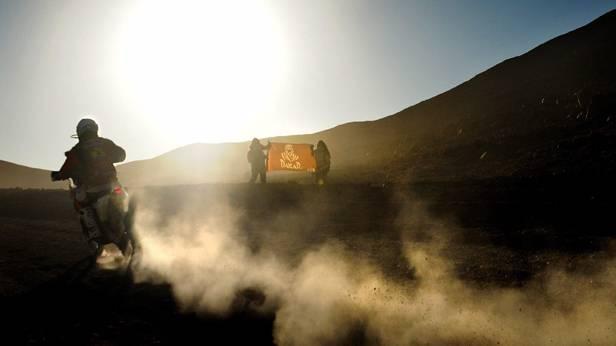 Jordi Vilaloms bei der Rallye Dakar 2014