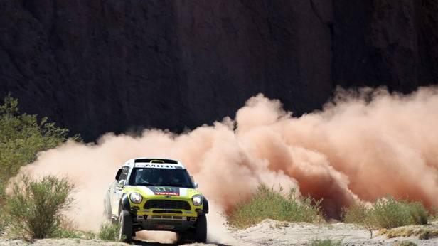 Nani Roma bei der Rallye Dakar