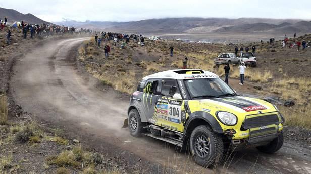 Joan Roma bei der Rallye Dakar 2014