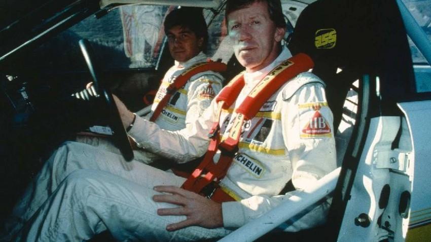 Rallye Monte-Carlo 1984 Walter Röhrl und Christian Geistdörfer