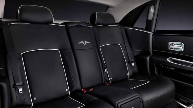 Die Rückbank des Rolls Royce Ghost V Specification