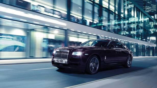 Der Rolls Royce Ghost V Specification
