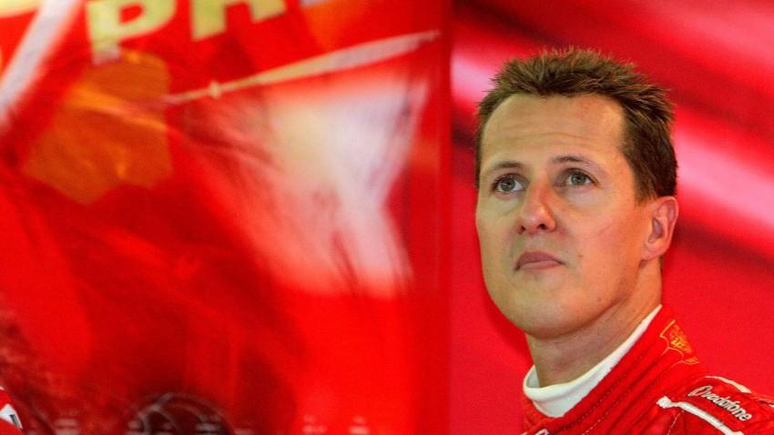 Michael Schumacher  (c) REUTERS/Thierry Roge