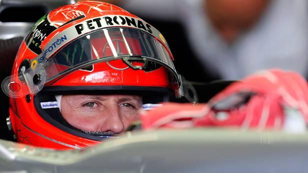 Michael Schumacher beim GP von Japan 2012  (c) REUTERS/Kim Kyung-Hoon
