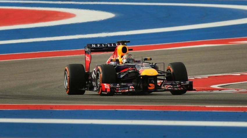 Formel 1 Austin Sebastian Vettel