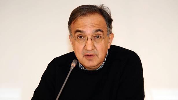 Der Fiat-Chef Sergio Marchionne