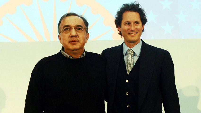 Sergio Marchionne und John Elkann