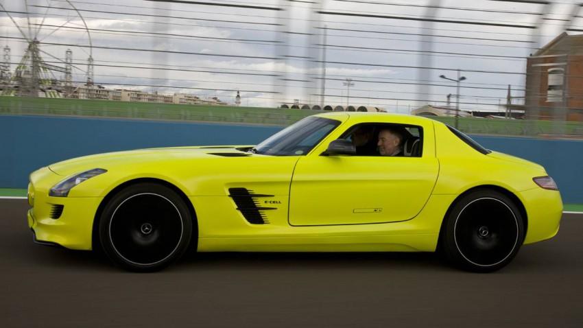 SLS AMG Electric Drive Mercedes Elektroauto