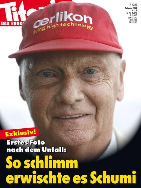 titanic cover schumacher Schumacher: Rehabilitation geht zu Hause weiter