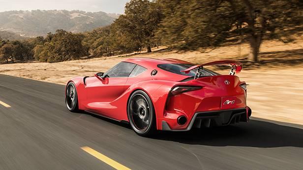 Toyota ft-1 konzept naias 2014 detroit hinten heck