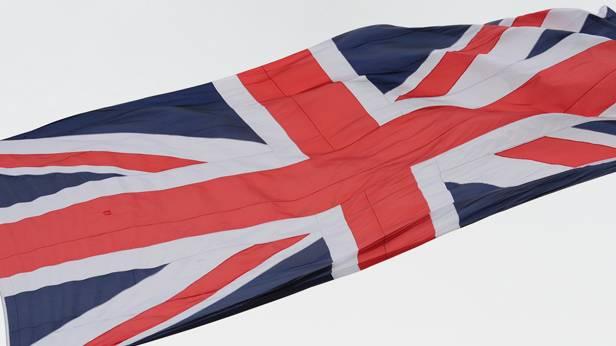 Die Flagge von Großbritannien