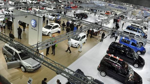 Die Vienna Autoshow 2012