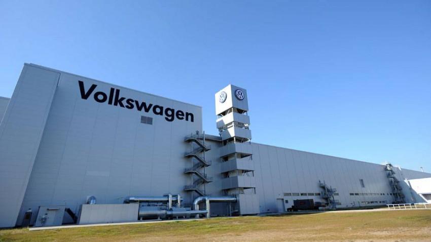 Das Volkswagen Werk in Chattanooga Tennessee.