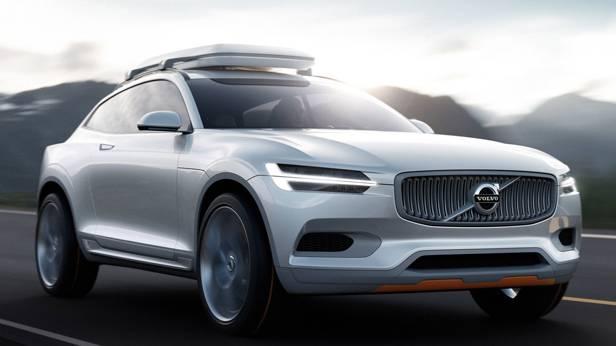Kommt wohl nicht: Volvo Concept XC Coupé