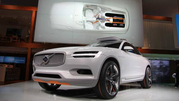 Das Volvo XC Coupé Concept