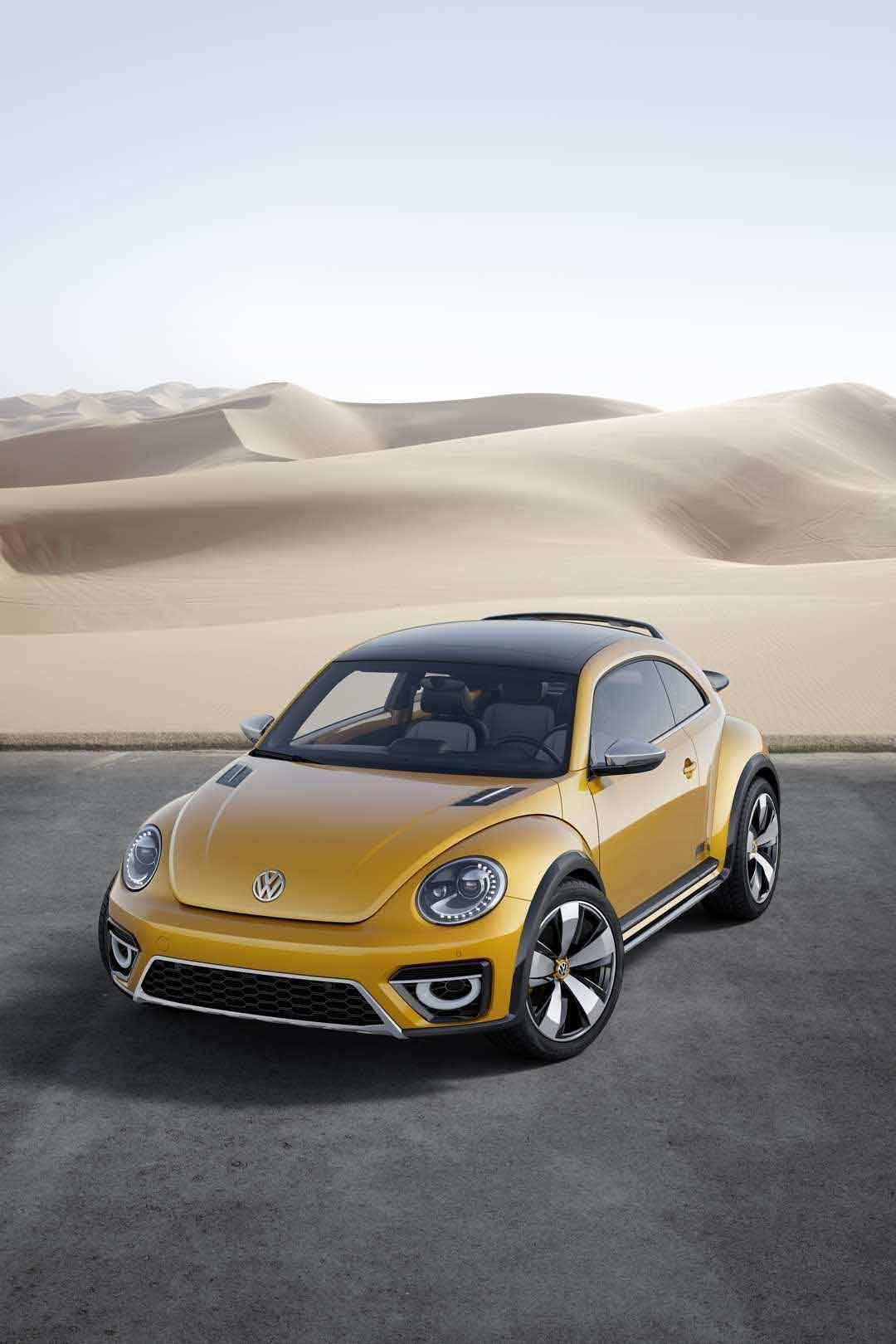 Der VW Beetle Dune von außen
