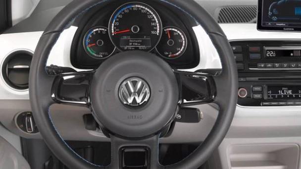 Das Lenkrad des VW E-up!