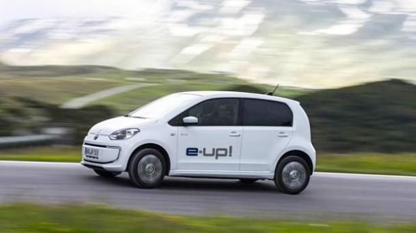 Der VW E-up! außen