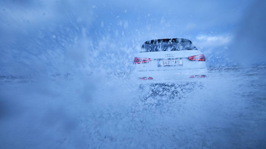 Audi Q3 RS Testbericht Bild des Tages