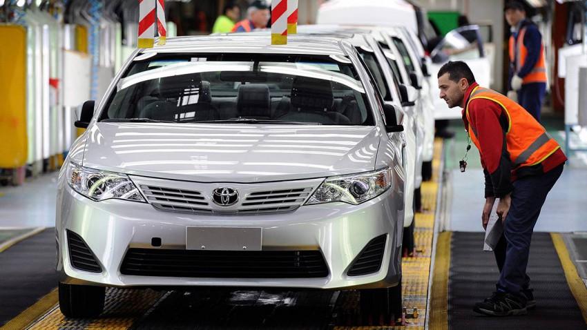 2018 soll mit der Autoproduktion für Toyota in Australien Schluss sein. @ JOE CASTRO / EPA / picturedesk.com