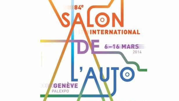 auto salon genf plakat 2014