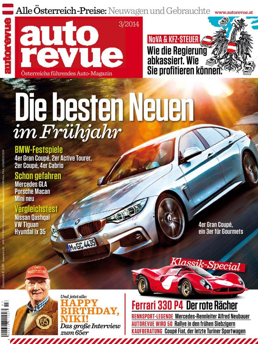 Autorevue Magazin-Archiv: Ausgabe 03/2014