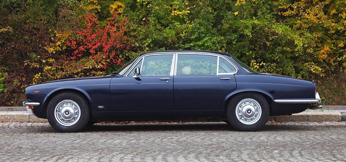 Jaguar XJ seite