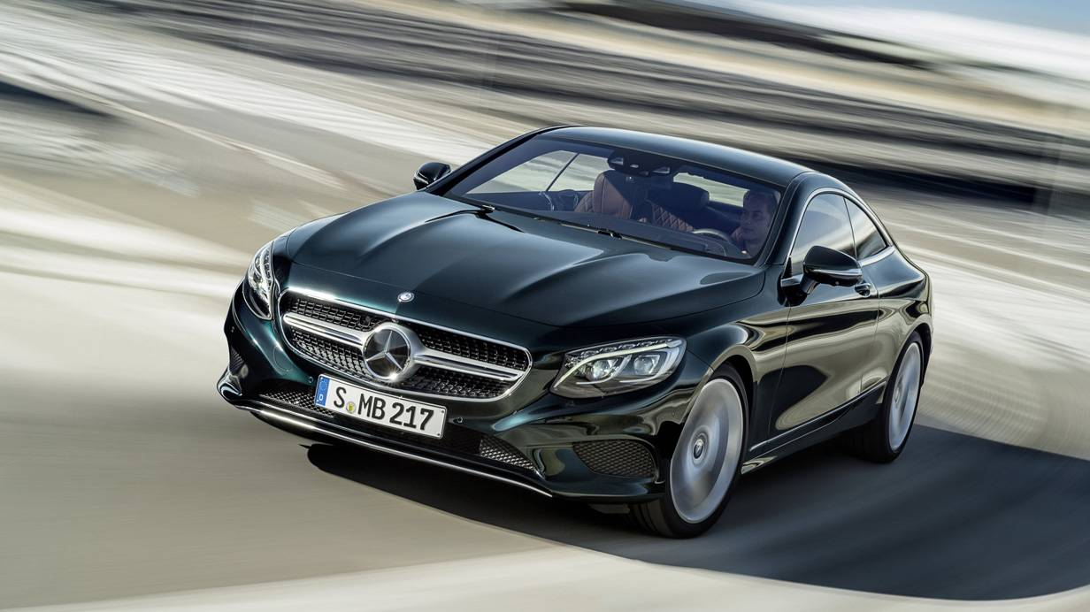 Mercedes Benz s-klasse coupe 2014 vorne front seite