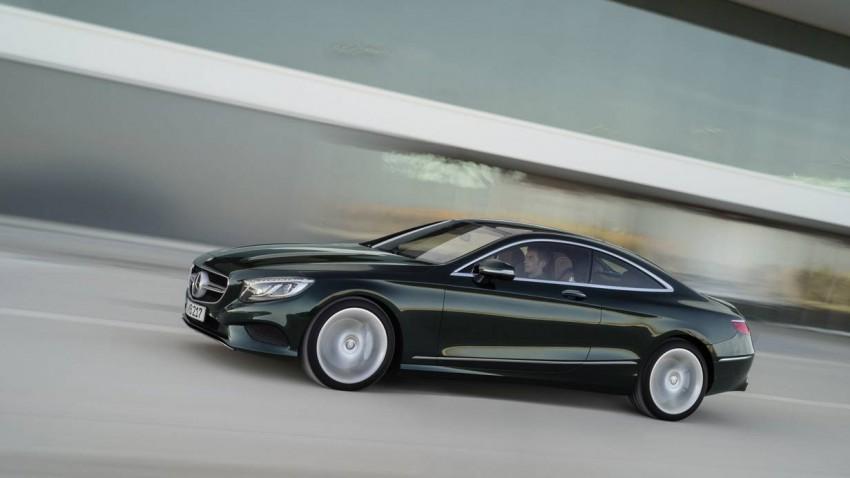 Mercedes Benz s-klasse coupe 2014 seite vorne front