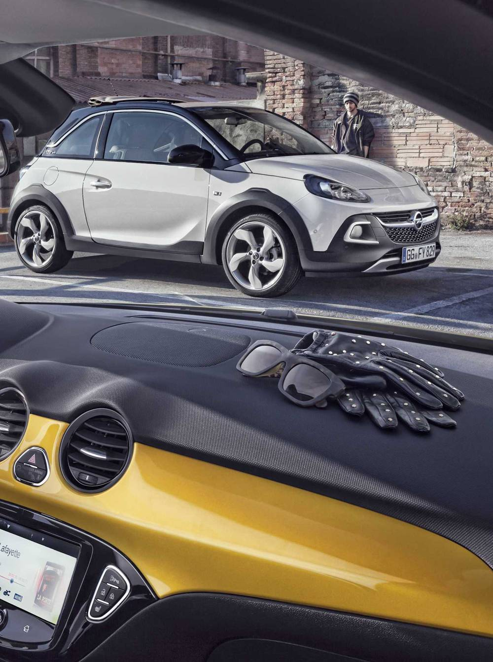 neu opel adam rocks modellvorstellung. Black Bedroom Furniture Sets. Home Design Ideas