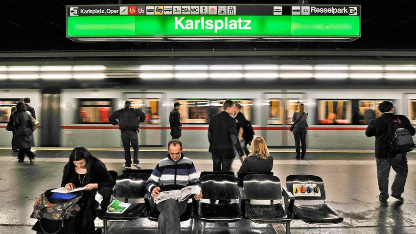u bahn station karlsplatz pendler