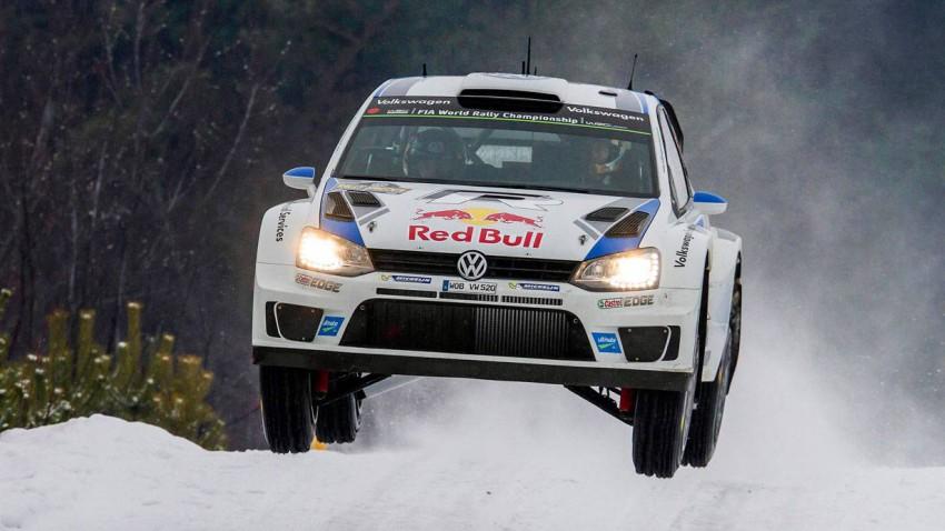 vw polo wrc rallye schweden 2014