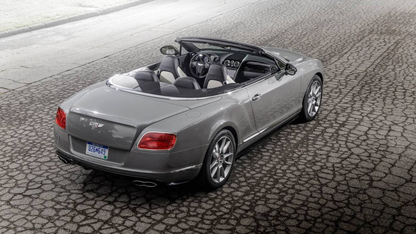 bentley continental gtc v8 s 2014 hinten heck innen