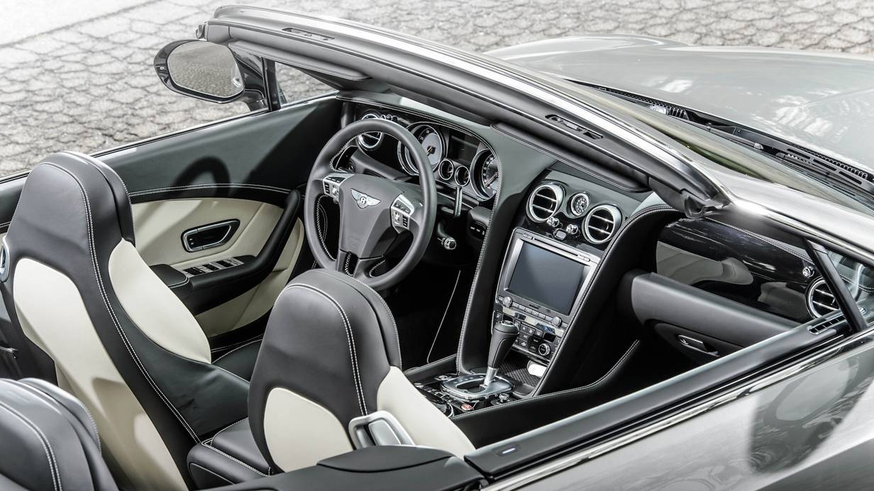 bentley continental gtc v8 s 2014 cockpit innenraum armaturen sitze
