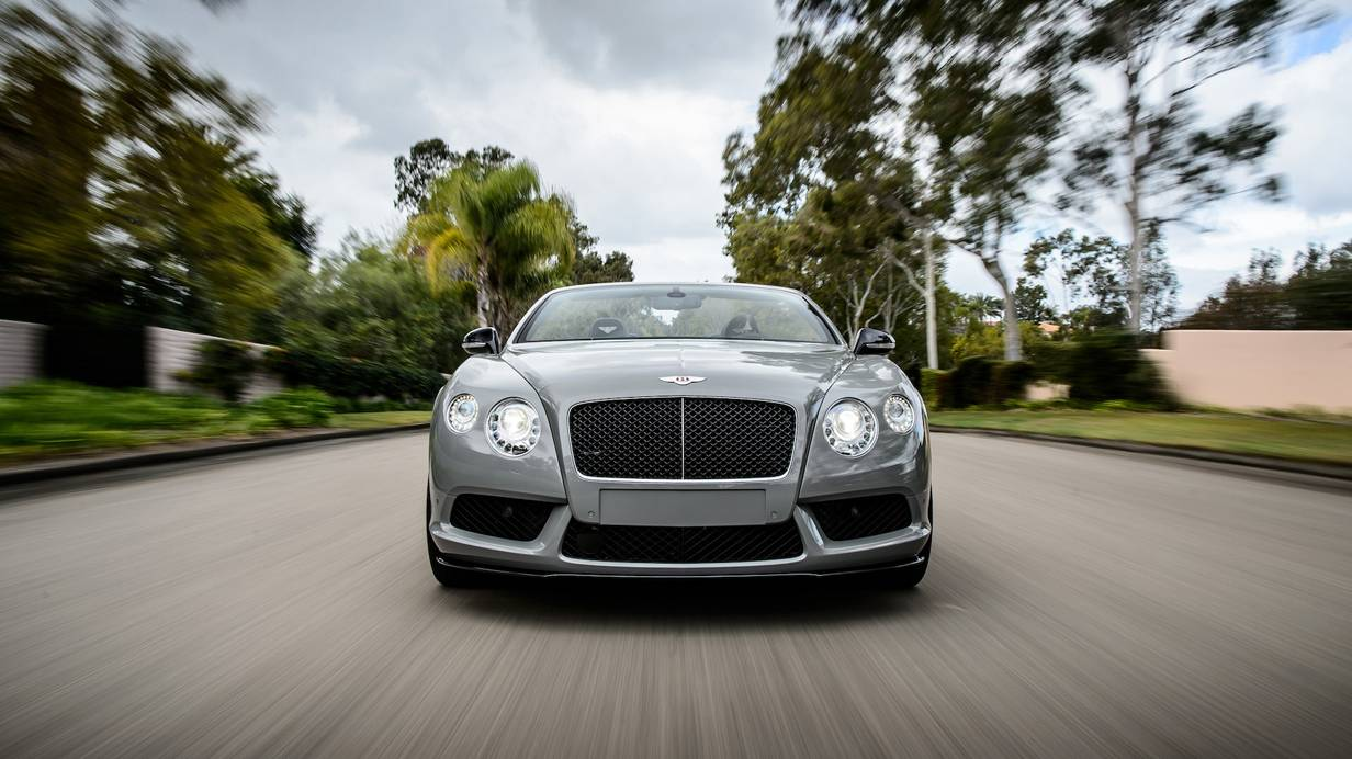 bentley continental gtc v8 s 2014 front vorne