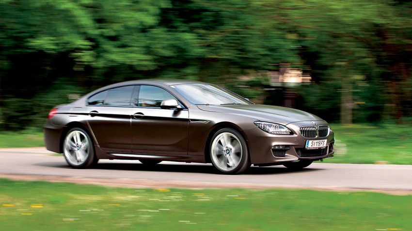 bmw 640d xdrive gran coupe seite vorne front