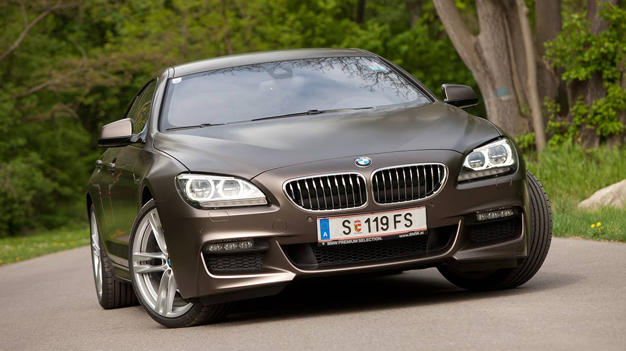 bmw 640d xdrive gran coupe front vorne