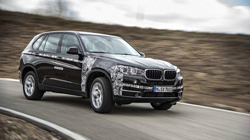 Der BMW X5 eDrive