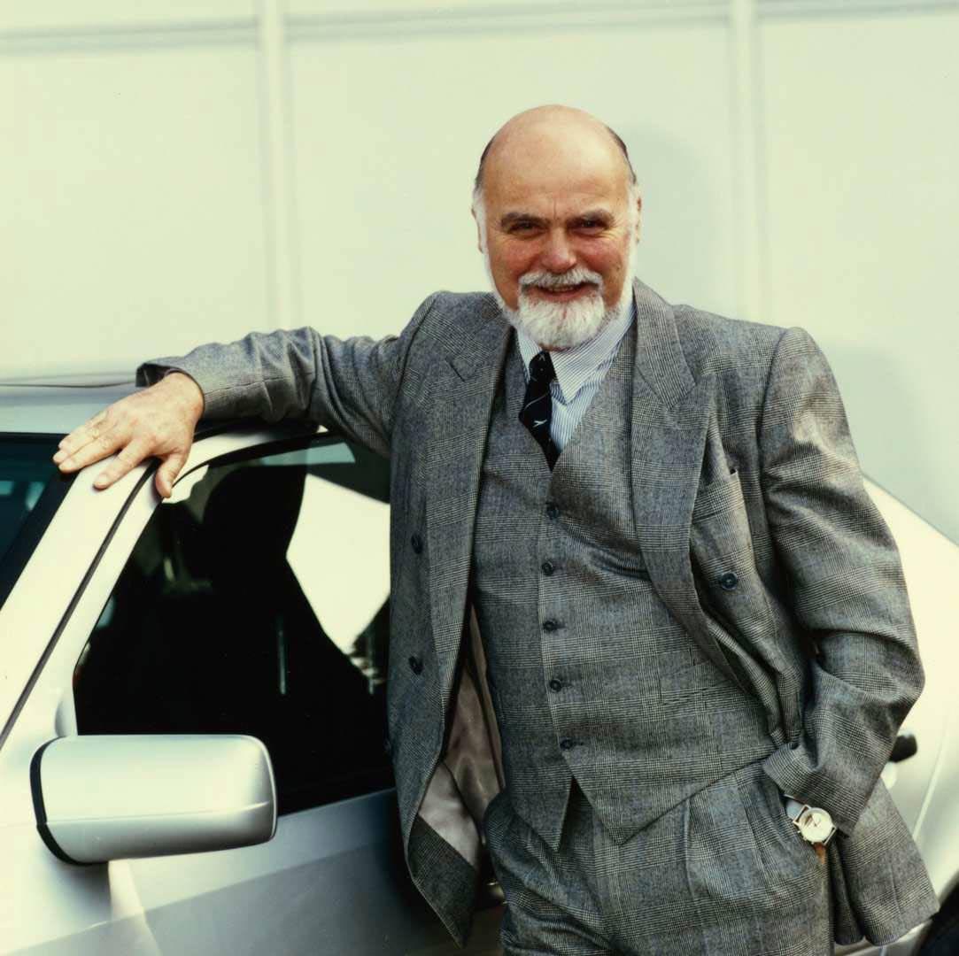 Burno Sacco, ehamliger Chef Designer bei Mercedes-Benz.