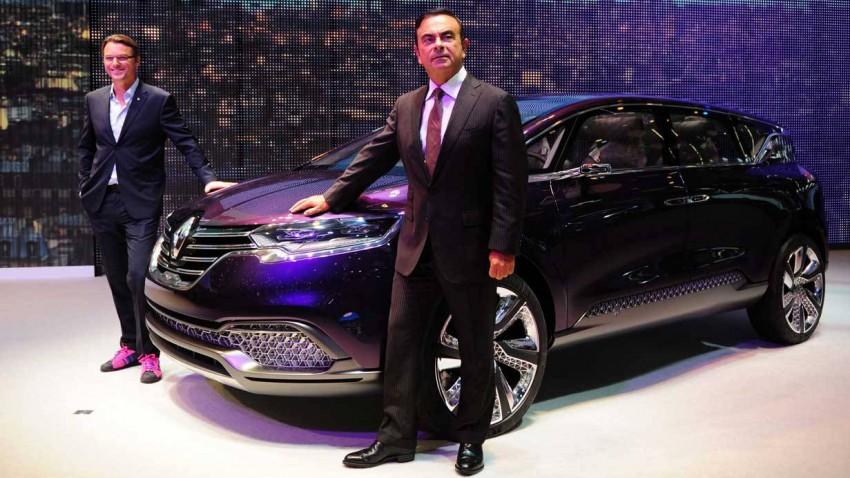 Carlos Ghosn CEO von Renault auf der IAA Frankfurt 2013