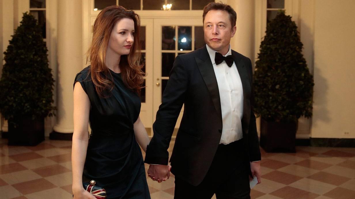 Elon und Talulah Musk