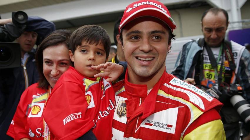 Michael Schumacher bekam Besuch von Ex-Teamkollege Massa
