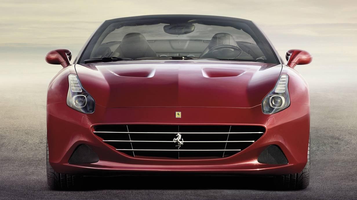 Ferrari California T 2014 rot vorne front kühlergrill