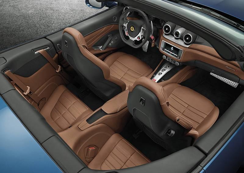 Ferrari California T 2014 innenraum sitze cockpit