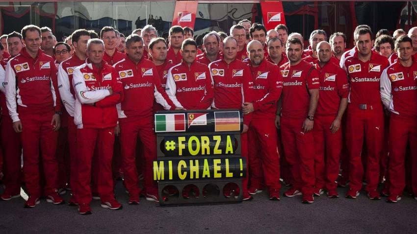 Das Ferrari Team