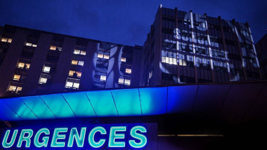 Das Krankenhaus in Grenoble