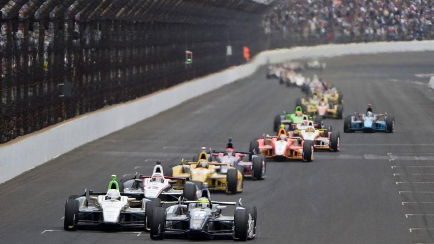 Das Indianapolis 500 Rennen 2013.