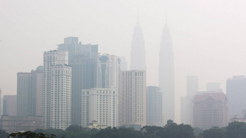 Kuala Lumpur versinkt im Smog