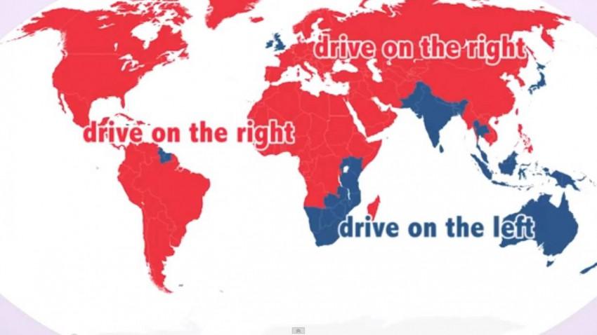 Video: Links- vs. Rechtverkehr