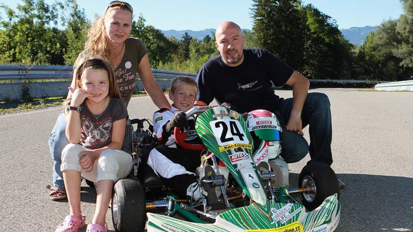 Mario Tomasini Nachwuchskartler Familie Eltern Einstieg in den Motorsport